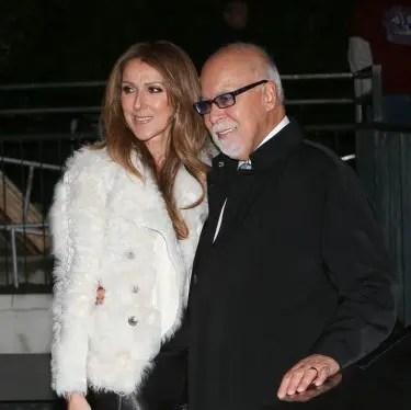 Celine Dion appears on the TV show 'Vivement dimanche' in Paris