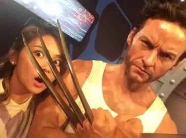 KAthryn with Wolverine