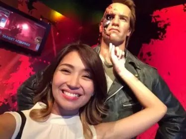 Kathryn with Terminator