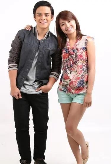 Khalil Ramos and Kathryn Bernardo
