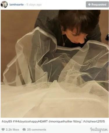 Heart Wedding Dress 2