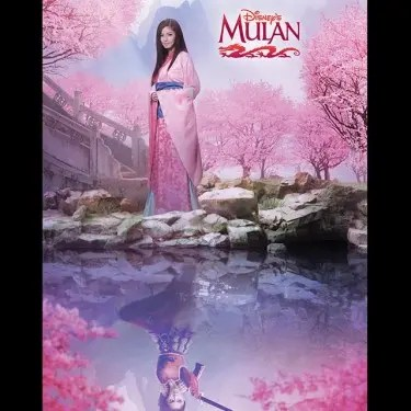 Kim as Mulan
