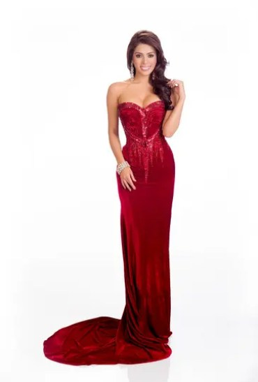 MJ red gown