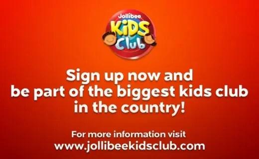 Jollibee Kids Club