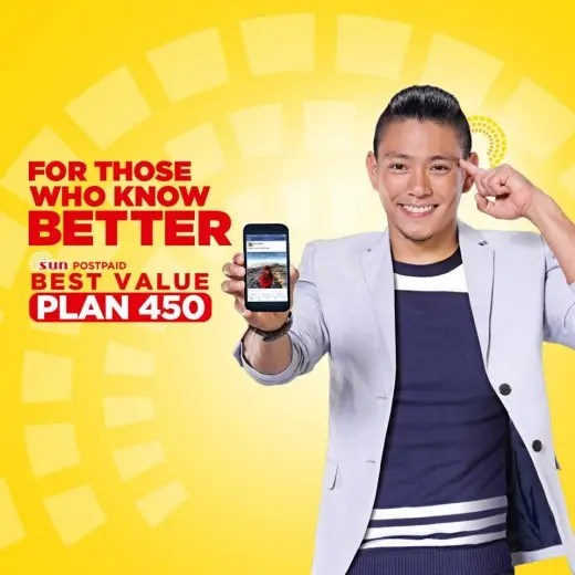 Drew Arellano for Sun Cellular