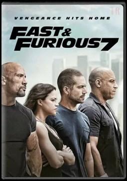 Furious 7 DVD release