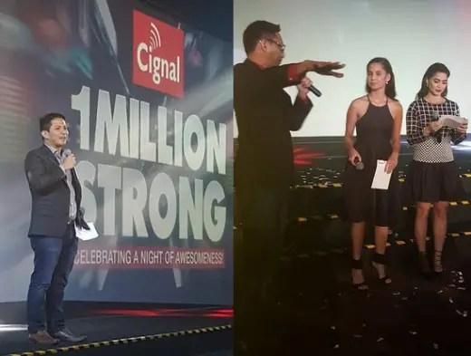 Cignal 1 Million Strong