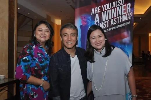 Dr. Carmela Kasala, Arnel Pineda and Maya Leander