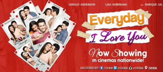 Everyday I Love You Banner