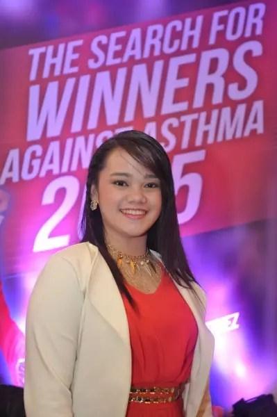 Grand Winner against Asthma Teesha Banta