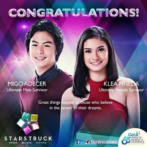StarStruck Winners