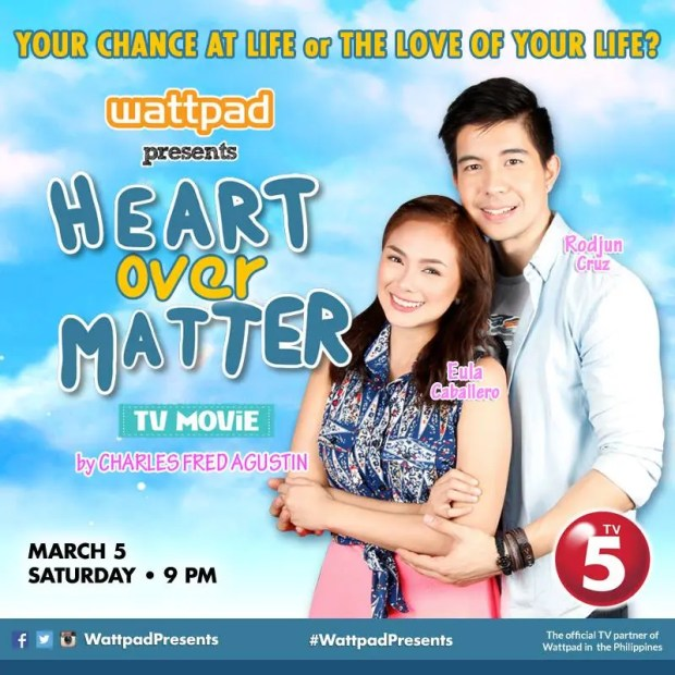 Wattpad Presents Heart Over Matter
