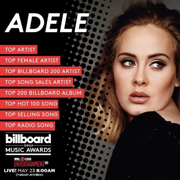 Adele Billboard