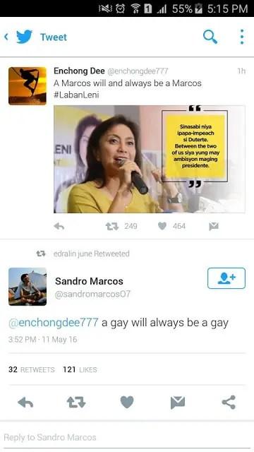 Sandro-Marcos-Tweet