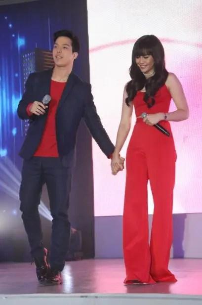Elmo Magalona and Janella Salvador at ABS-CBN Gabi ng Pangarap Trade Event