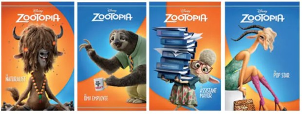 Other Zootopia Casts
