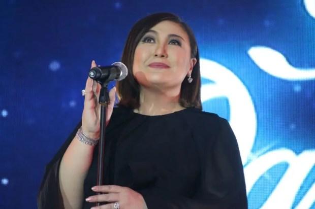 The Voice Kids coach Bamboo at ABS-CBN Gabi ng Pangarap Trade Event