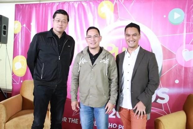 Donald Lim, Richard Reynante, Domi Espejo at the PUSH Awards 2016 press conference