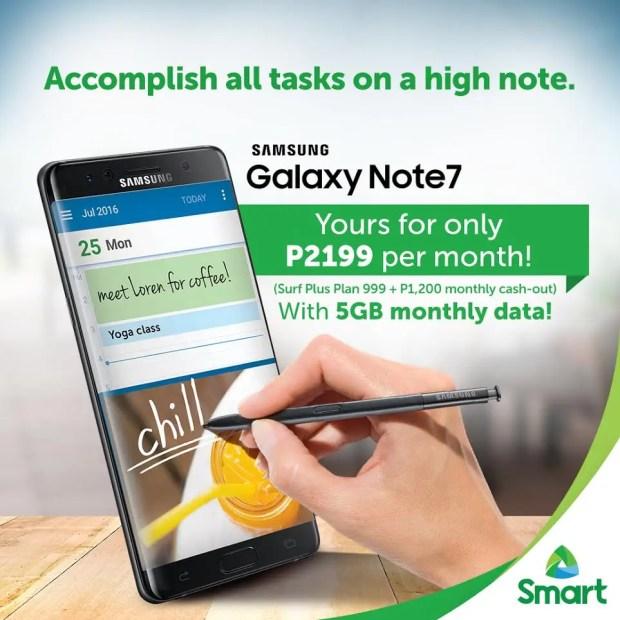 Smart Samsung Note 7
