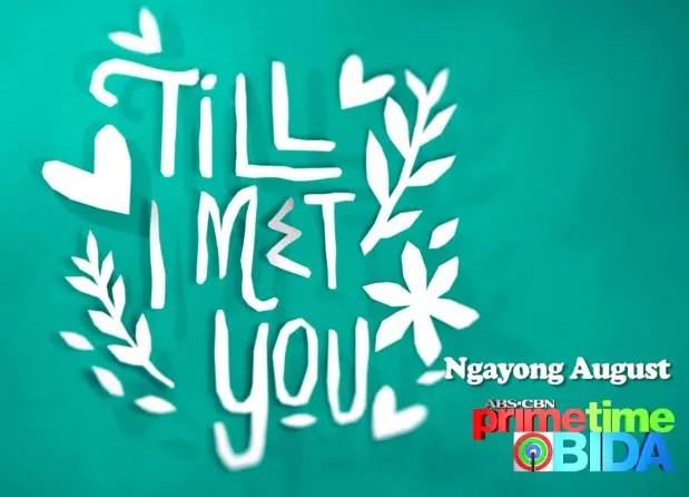 Till I Met You Title Card