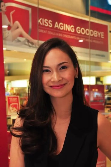Watsons Brand Ambassador and Host Patty Laurel