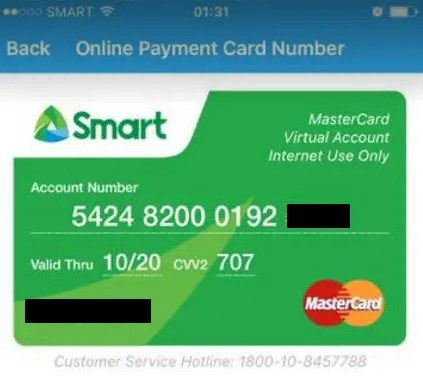 Smart PayMaya Mastercard: The Convenience of a Virtual Credit Card