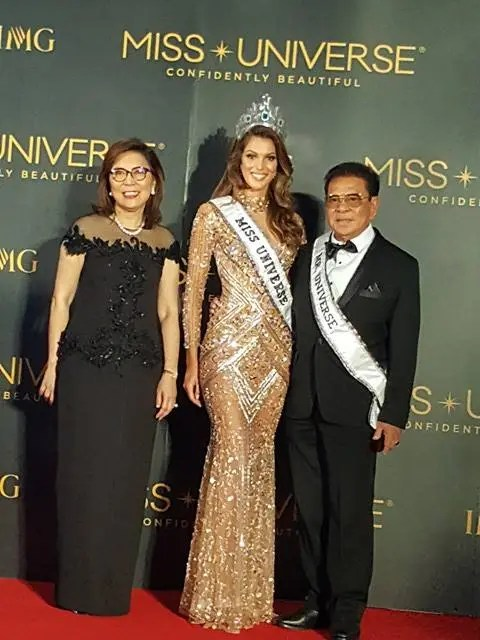 Miss France with Chavit