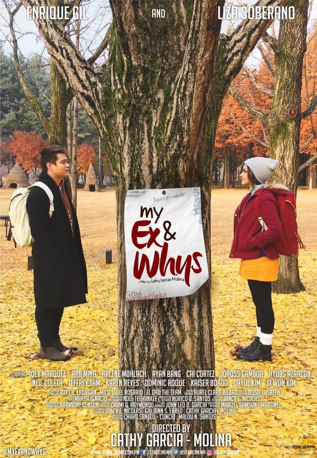 My Ex and Whys secondary poster