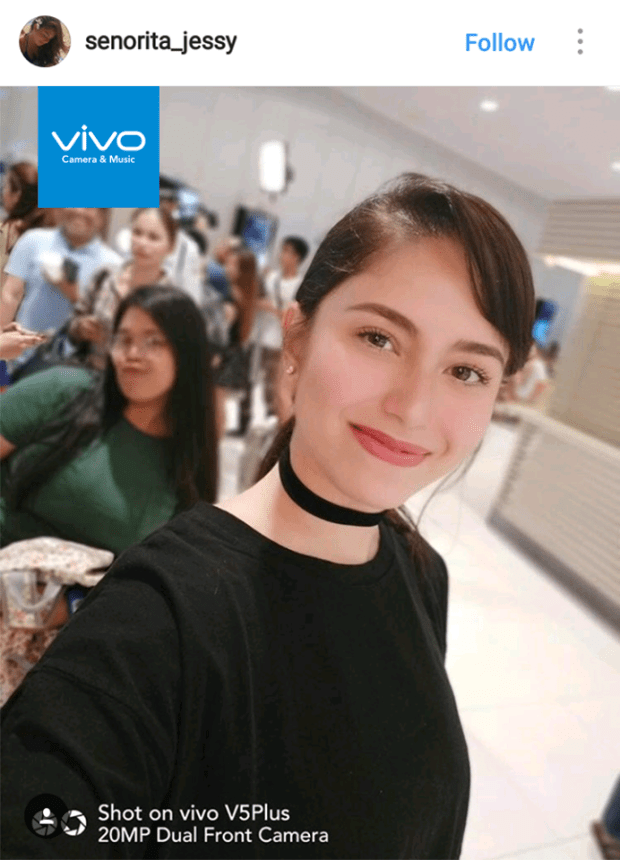 "FHM's current ""sexiest woman"" expresses her love for the new Vivo V5 Plus, and marvels at its 20-megapixel dual front camera."
