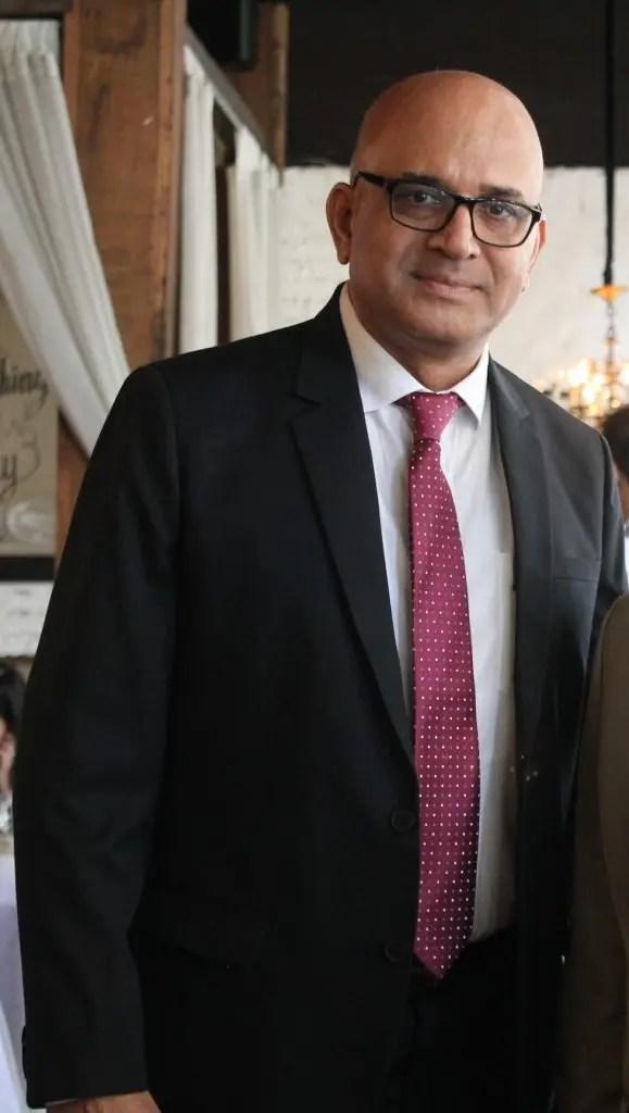Krishna Kulkani General Manager Wipro Unza, manufactuer of Enchanteur Fragrances