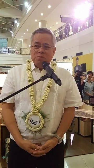 Trade Secretary Ramon Lopez