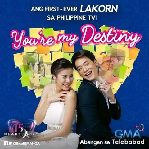 Lakorn You Re My Destiny Is First Thai Drama To Air On