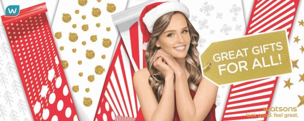 Watsons Holiday Gift Sets: Look Good, Feel Great this