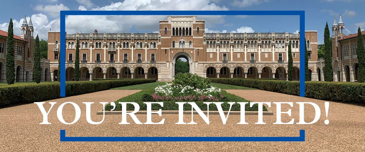 Rice University – Information Sessions