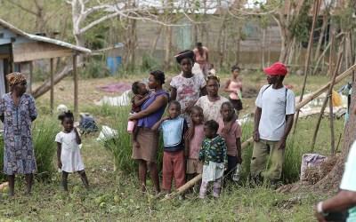Krise i Haiti, barna trenger mat!