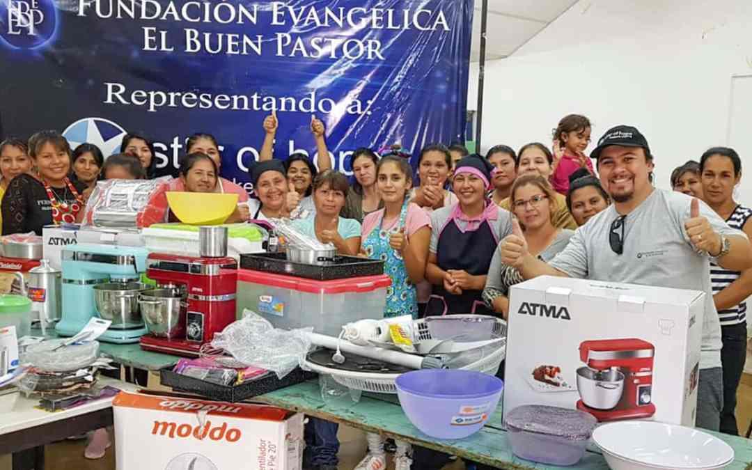 Ny köksutrustning i Argentina