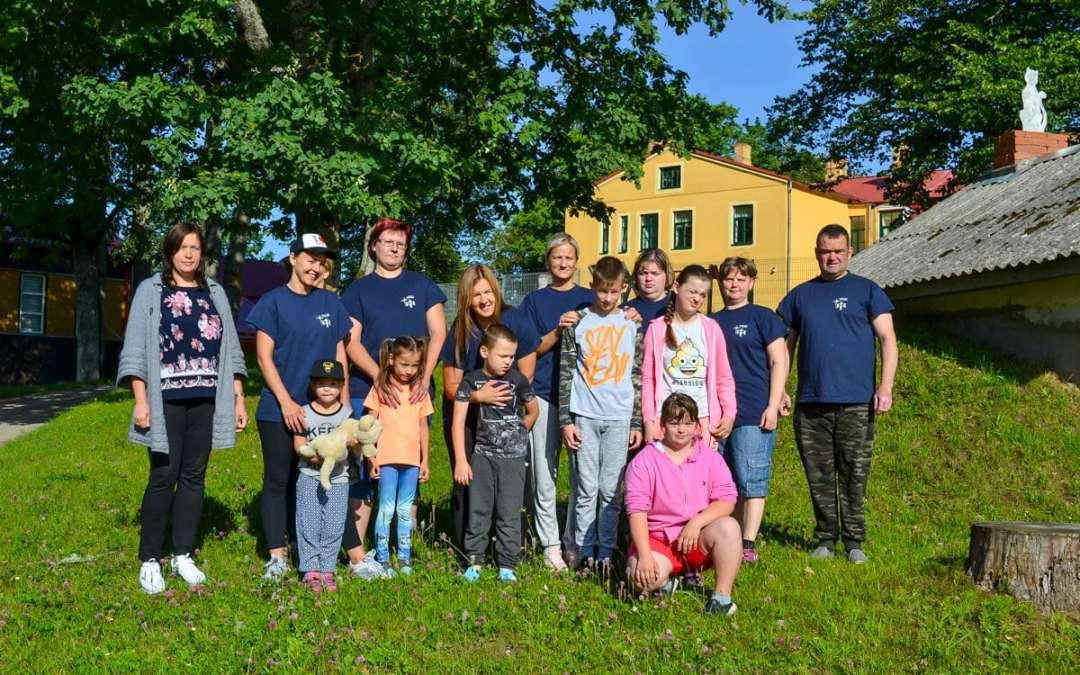 Sommarläger i Lettland
