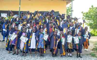 Skolavslutning Ghana