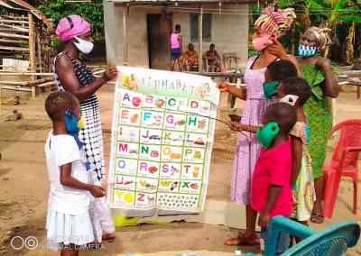 Hemskolning Ghana
