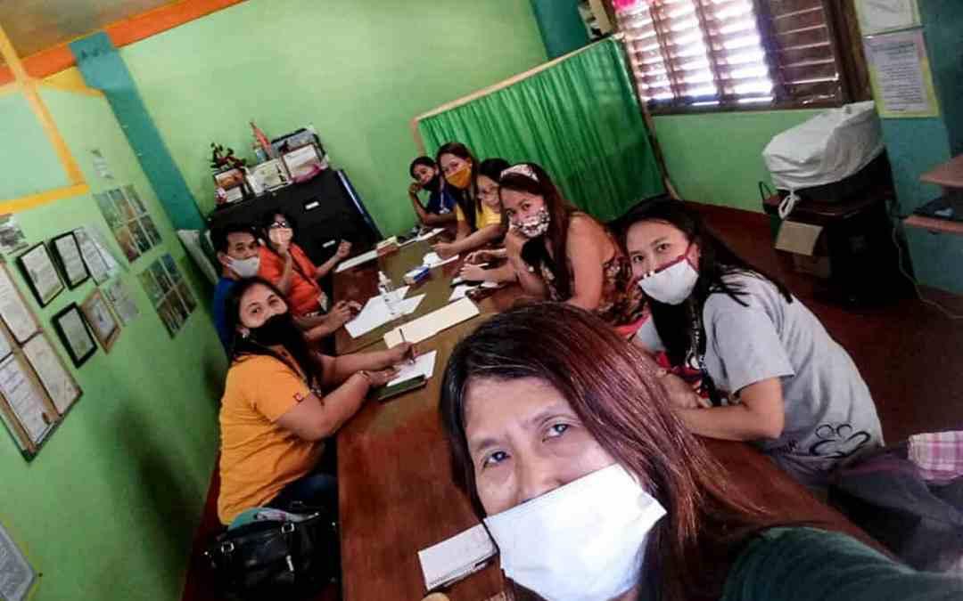 Förberedelser i Filippinerna