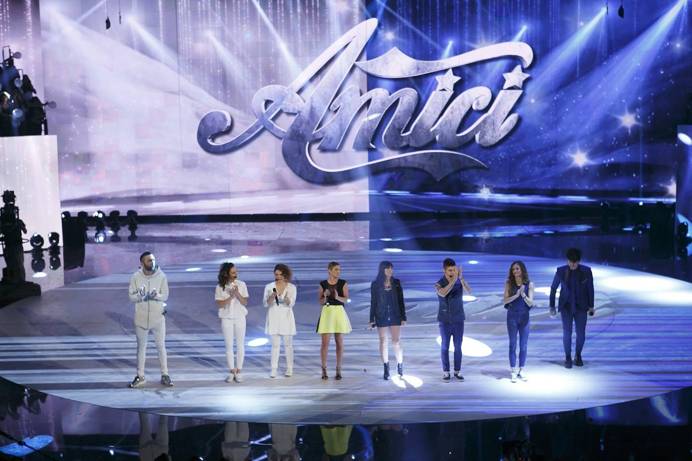 squadra blu squadra bianca schierate settima puntata