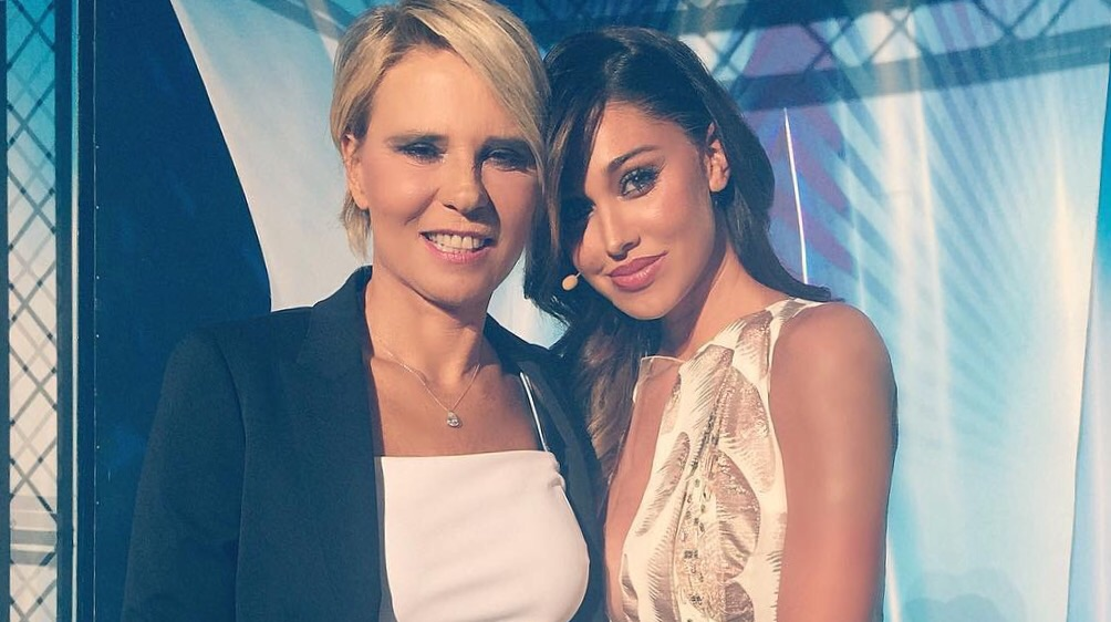 belen rodriguez Mara vernier Francesco sole tu si que vales talent show canale 5 settembre 2015
