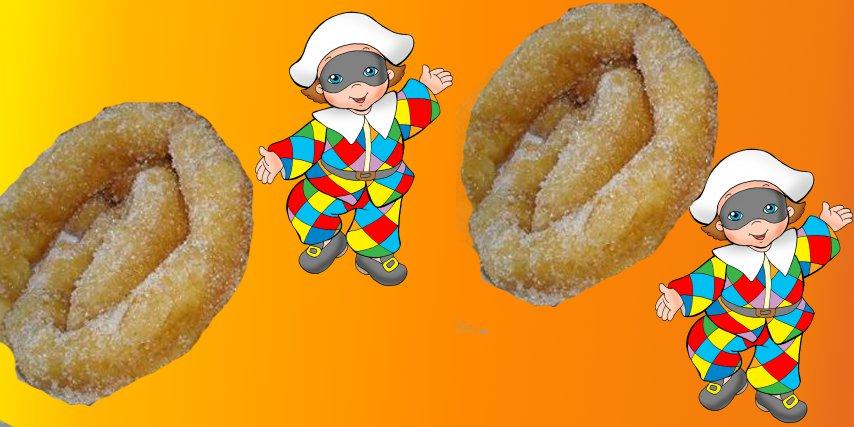Frittelle lunghe di Carnevale Sassaresi