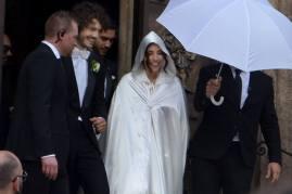 Gf: Chicca Rocco e Giovanni Masiero sposi