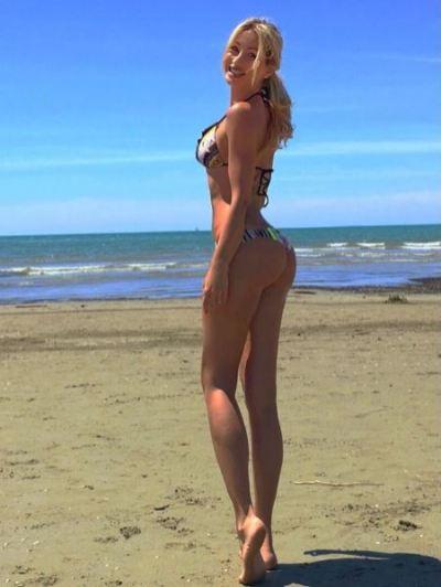Copertina: la bellissima Cristina Masiero