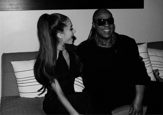 Stevie Wonder ariana grande faith new song soundtrack