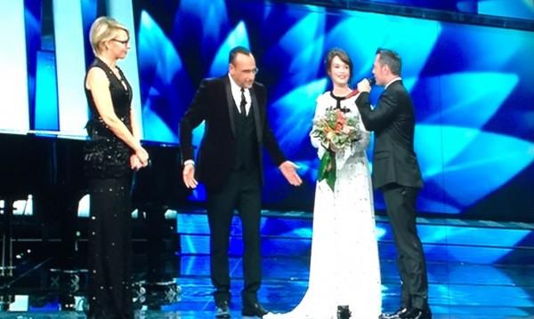 Tiziano ferro Sanremo 2017 il conforto Carmen consoli Carlo conti il mestiere della vita potremmo ritornare Luigi Tenco mi sono innamorato di te