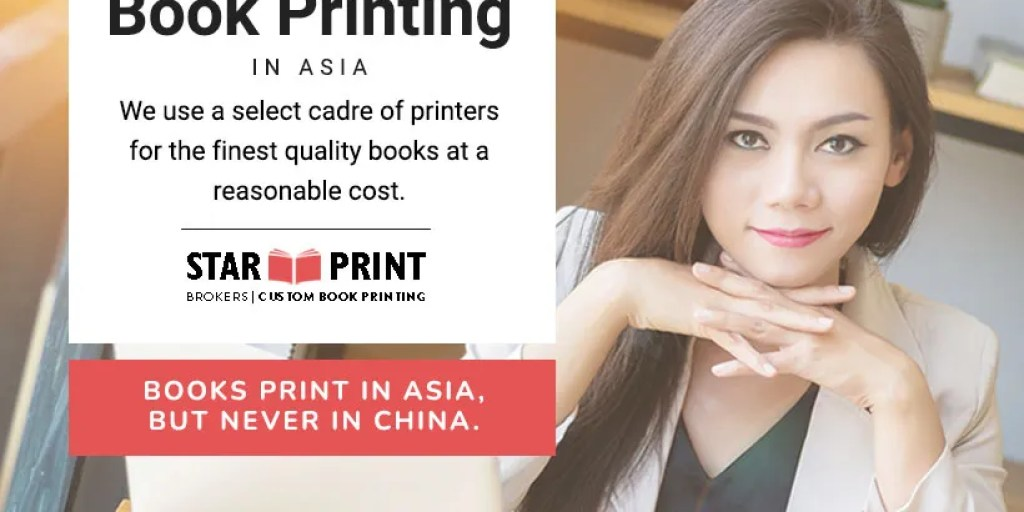 Asia and China book printing services for self publishers. We print custom books.