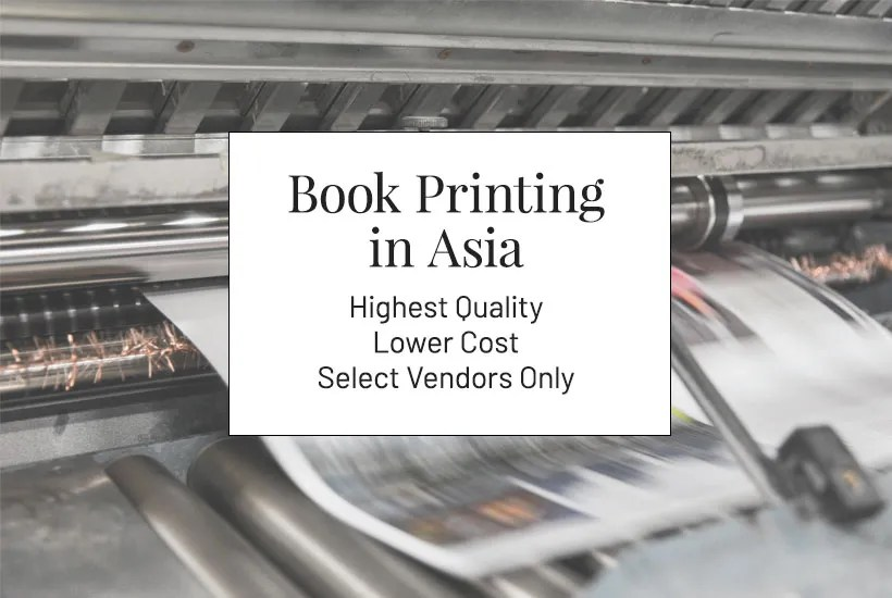 Asia and China book printing services for authors and self-publishers everywhere. We are based in Seattle and print custom books.