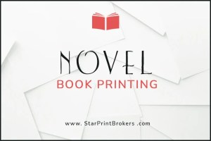 Novel printing and trade book printing. Print your novel or trade book with us.